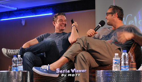Welcome to sunnydale James Marsters et Nicholas Brendon