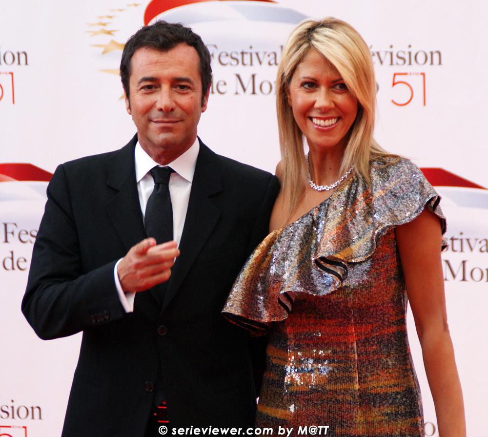Tv fest 2011 6juin - Bernard montiel et sa compagne ...